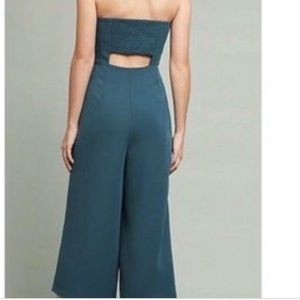 41604fe34ded Anthropologie Pants - Anthropologie Hailee C Strapless Bow Jumpsuit